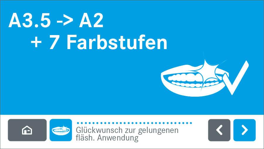 fläsh Zahnaufhellung von WHITEsmile